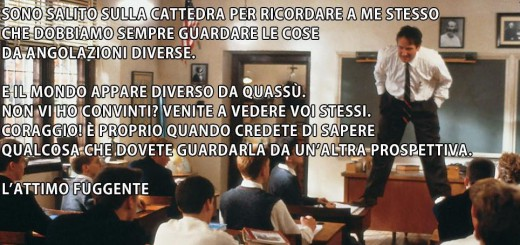 L'attimo fuggente - Robin Williams